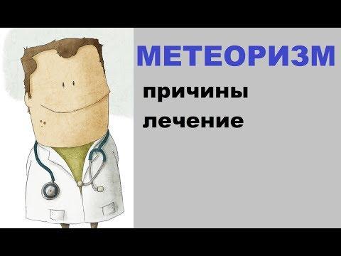 Метеоризм: причины, лечение