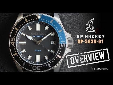 [PRODUCT OVERVIEW] Spinnaker Spence 41.5mm SP-5039-01 Vintage Blue Black