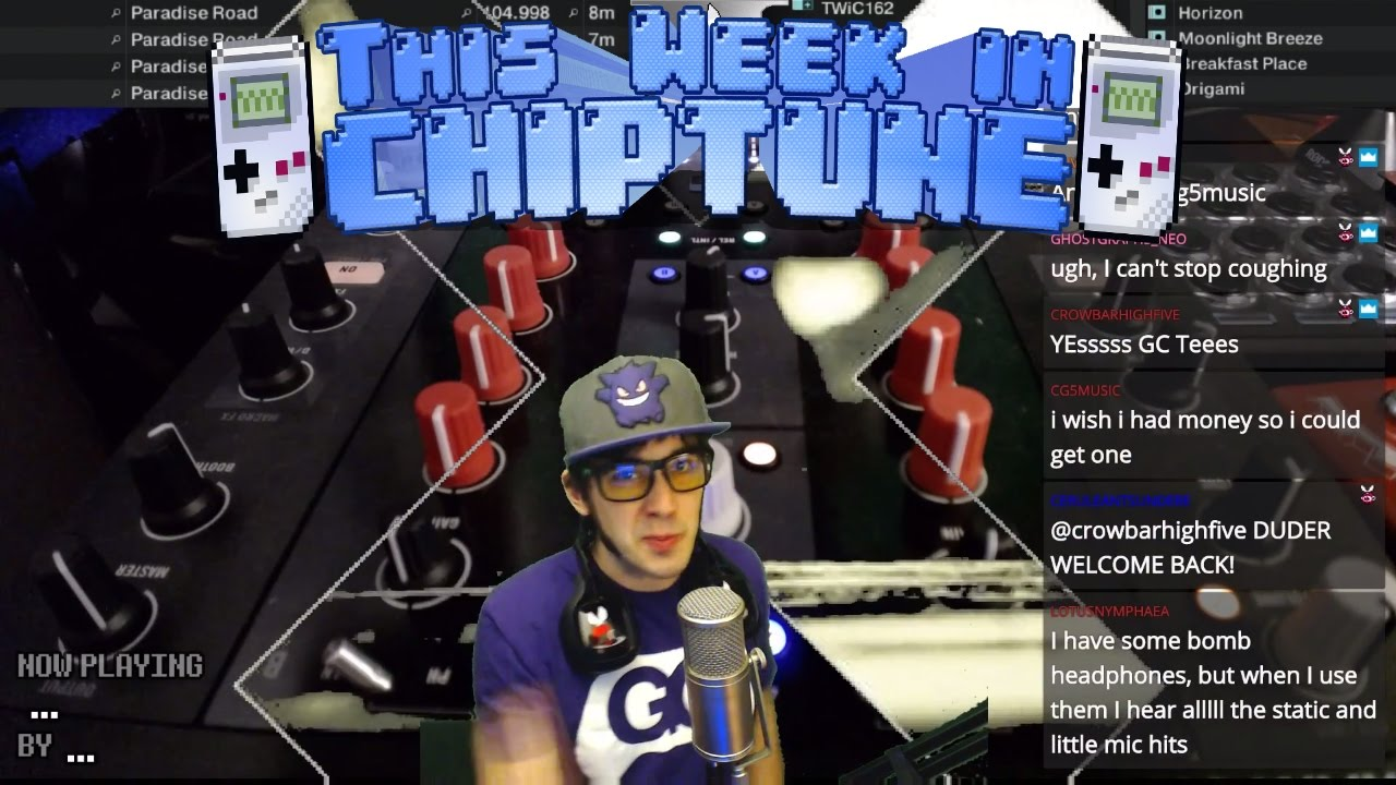 This Week in Chiptune - TWIC 165: NES CHIPTUNE, GAMEBOY, SNES AND SYNTHWAVE