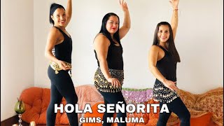 HOLA SEÑORITA- GIMS, MALUMA #CoreografíaFatifit #CostaRica