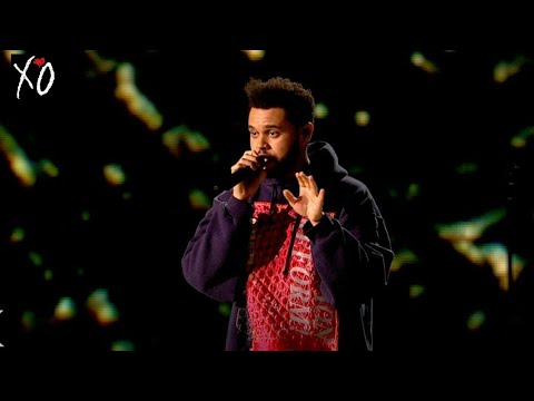 The Weeknd - STARBOY At The X Factor UK - HD Performance.