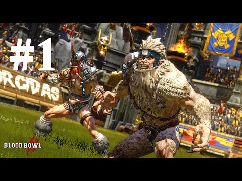 Blood Bowl 2 - Norse vs Skaven | Match #1