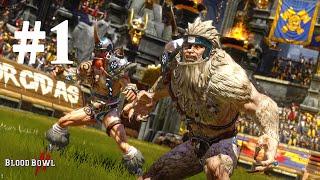 Blood Bowl 2 - Norse vs Skaven | Match #1