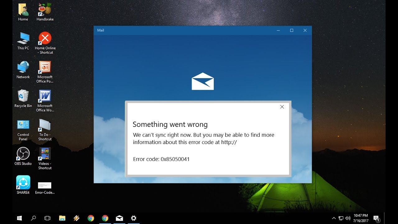 How to Fix All Windows 10 Mail Error Issues