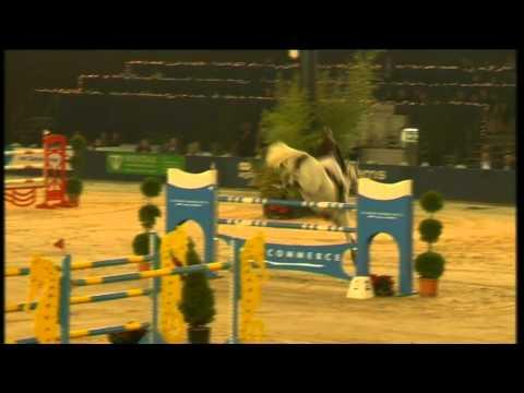 Angelique Hoorn & Eurocommerce Damascus, winners Medium Tour Final at Hippisch Hengelo