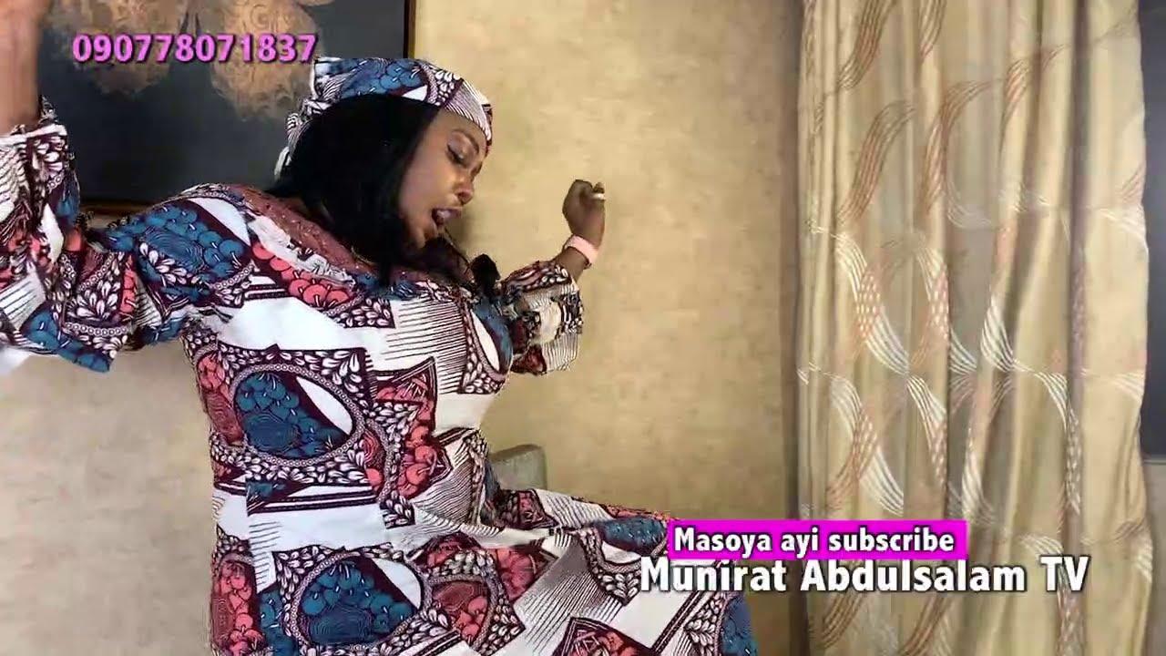 Download CIN GINDI DA ZAISA KI KAWO RUWA KAMAR FANFO  -  Sabon video munirat Abdulsalam