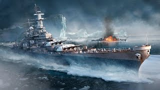 World of Warships. Плоский , пшел прочь от корабля