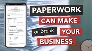 Roofing Sales Process: Why Paperwork is So Important For Your Roofing Business