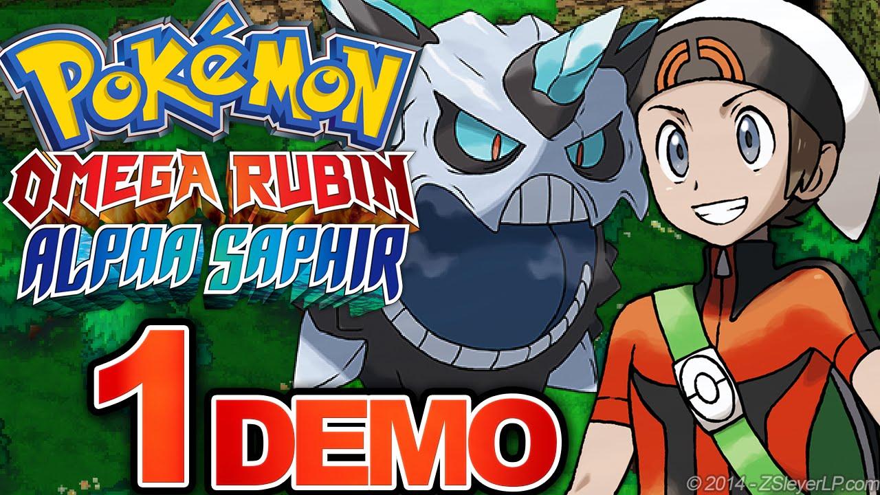 Mega Firnontor Und Das Erste Abenteuer 1 Pokémon Omega Rubin