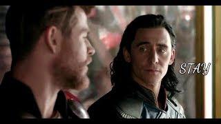 Thor & Loki // Stay (+ infinitywar)