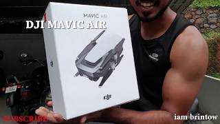 DJI MAVIC AIR Drone UNBOXING | INDIA | Ariel view | god's own country
