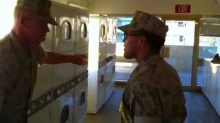 drill instructor lighting that ass junior marine joking this is not a real d i mryan24