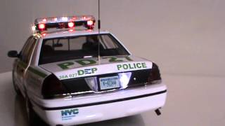 NEW YORK CITY DEP POLICE FORD CROWN VICTORIA Department of Environmental Protection