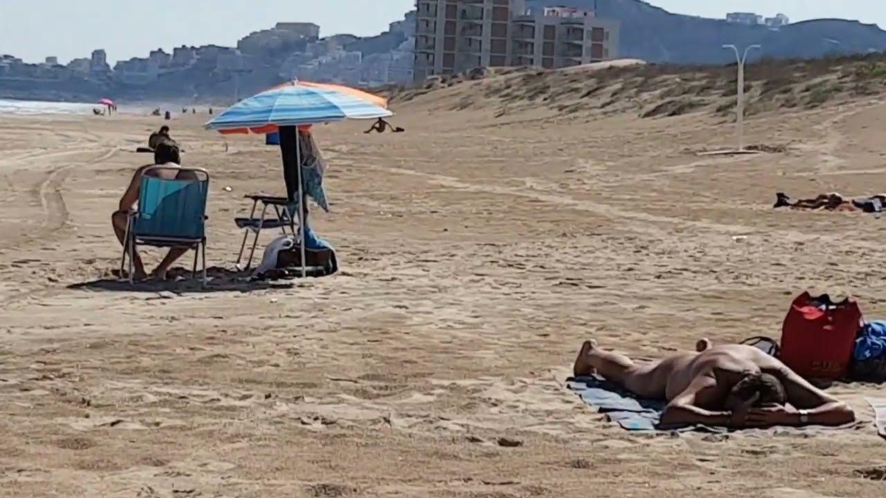 Fkk strand Cullera in Spanien 4K - YouTube