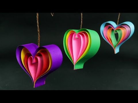 How To Make Paper Hearts: Quick and Easy DIY Crafts Tutorial