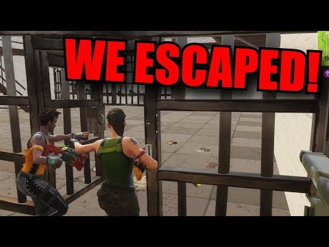 Prison Break - Fortnite Battle Royale
