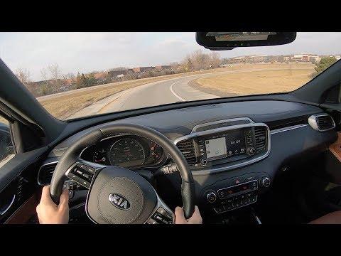 Kia Sorento SXL V AWD - POV First Impressions