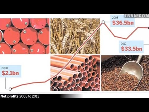 Big Commodity Traders Pocketed $250 Billion Profit
