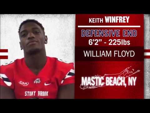 KEITH WINFREY – DL – 6-2 – 225 - Mastic Beach, N Y  – William Floyd HS