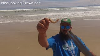 Drone Fishing Episode 4 at the Strand Western Cape SA Prawn bait 156m
