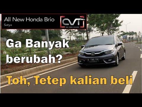 CVT Review #25: All New Honda Brio Satya CVT Indonesia | GA BANYAK BEDA |