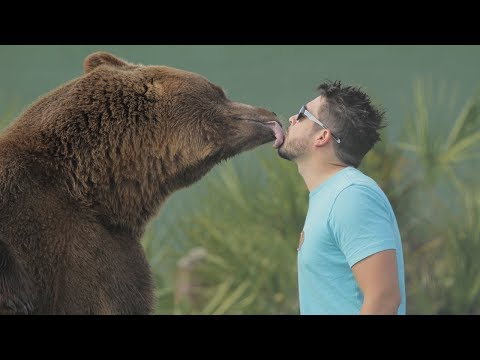 Clint August - We Share Our Home With 14 Bears | BEAST BUDDIES