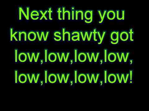 Apple Bottom Jeans Lyrics Low HD   YouTube