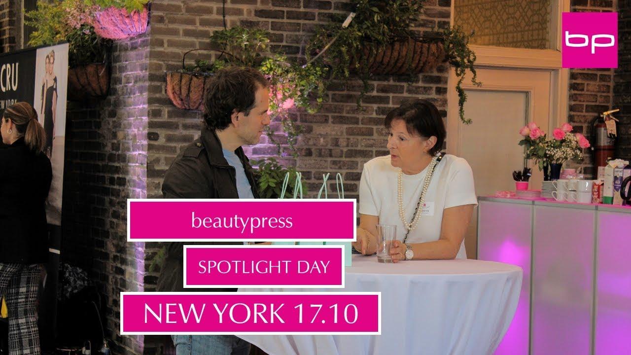 beautypress Spotlight Day NY Fall 2018