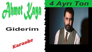 Ahmet Kaya - Giderim (karaoke)