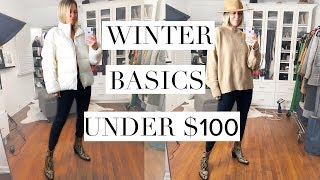 Top 10 Winter Basics under $100!