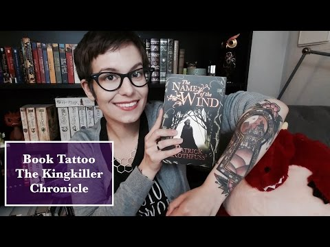 Book Tattoo | The Kingkiller Chronicle