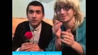 Üç-Üz  ---- Retrica ilə şəkil çəkən qız üçün elçi gedərlərsə (Vine) Hüseyn Azizoğlu