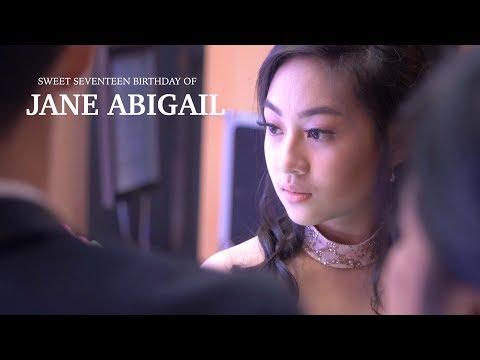 Jane Abigail - Sweet 17 Birthday