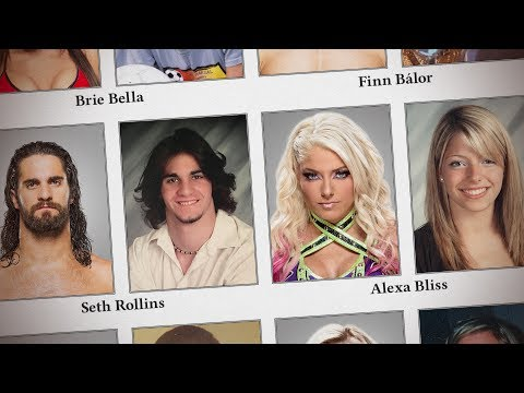 WWE Superstar high school photos