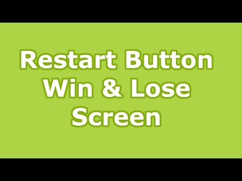 how to create a restart trigger in unity
