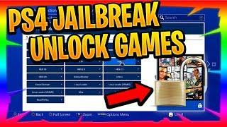 How To Unlock Games PS4 PlayStation 4 Jailbreak
