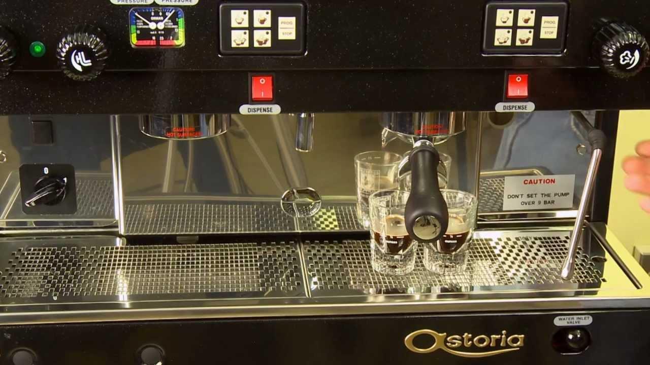 astoria technical espresso machine programming youtube. Black Bedroom Furniture Sets. Home Design Ideas