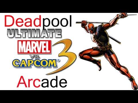 Ultimate Marvel VS Capcom 3 Arcade - Deadpool {& The Weapon-X Team}