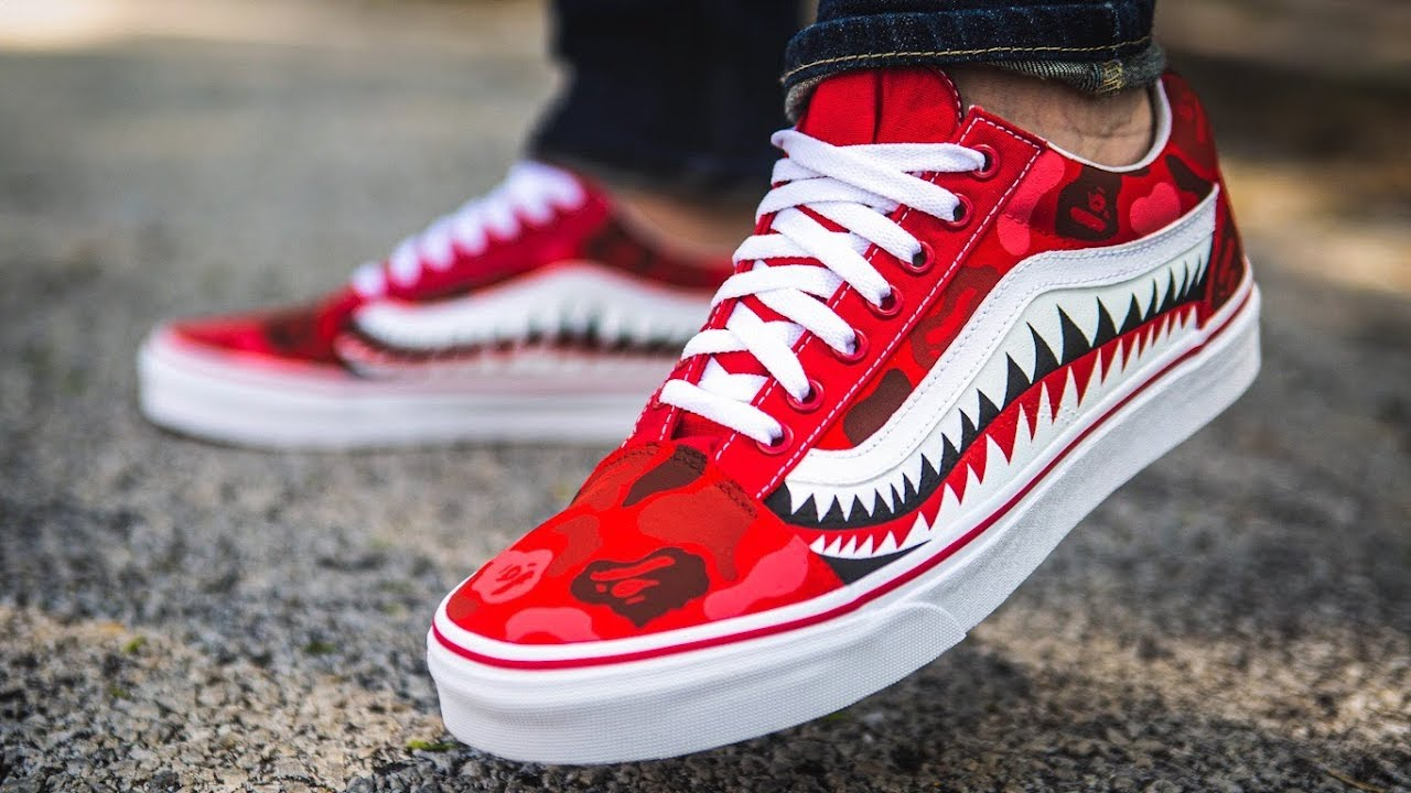 The ONLY Bape Vans Video You'll EVER Need (We're GIVING these away ...
