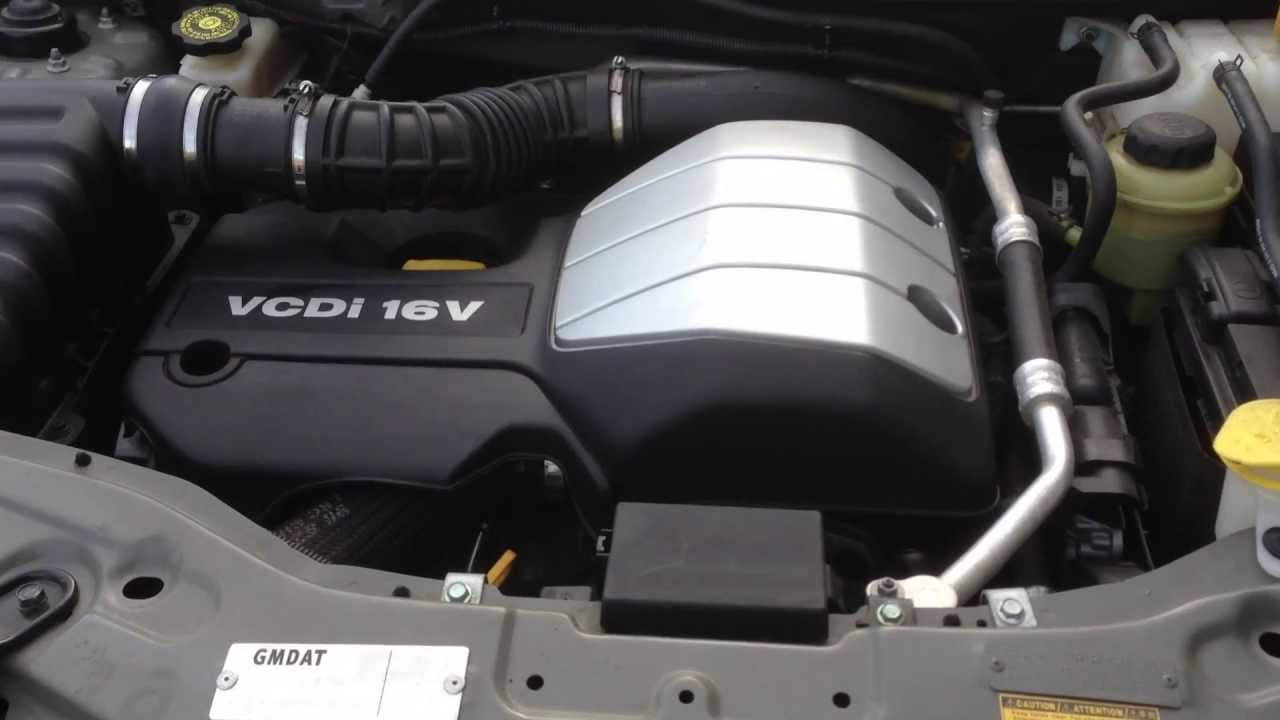 Stock# A5139 HOLDEN CAPTIVA 20 TURBO DIESEL ENGINE Z20SI AUTO 0611  YouTube