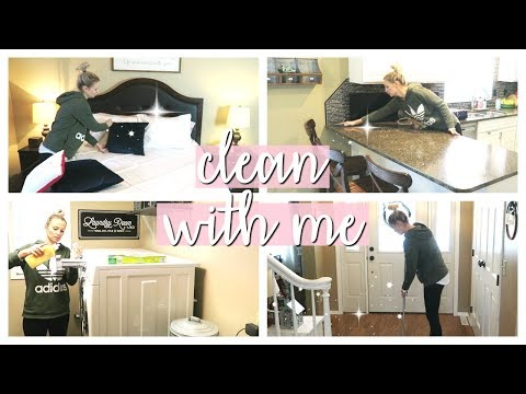 SPEED CLEAN WITH ME! | CLEANING MOTIVATION JANUARY 2019