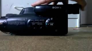 Sony-video-8-handycam
