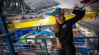 Simone Giertz Goes to CERN!