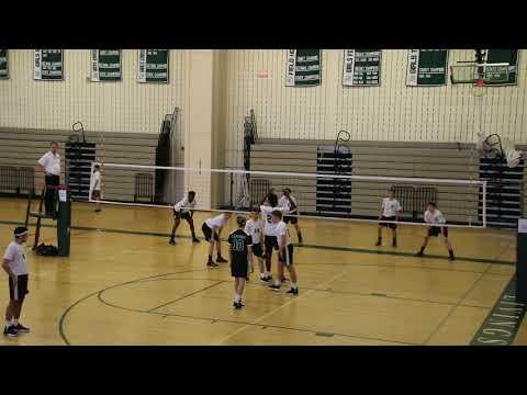 Livingston vs St. Joes Boys High School Volleyball