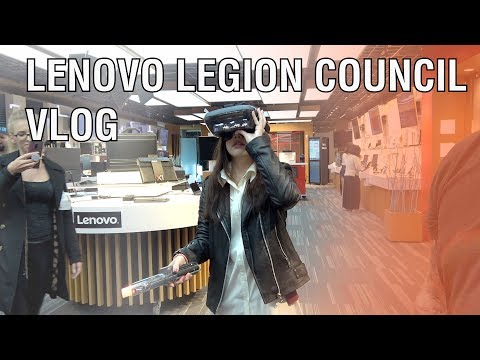 Computers & Axe Throwing | Our Trip To The Lenovo Legion Council In NC