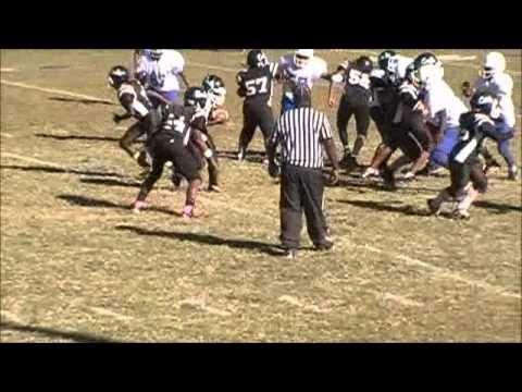 2012 Colts Pee Wees vs Crystal Springs