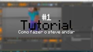 Cinema 4D Tutorial: Como fazer walk cycle - (Minecraft Animation) 2017
