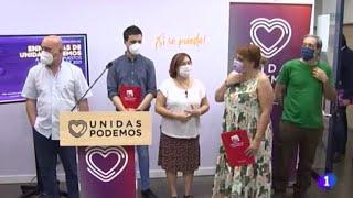 TVE - Unidas Podemos ha presentado 99 enmiendas a los presupuestos regionales