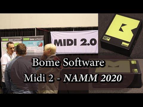 BomeBox Software/Firmware Update for MIDI 2 - NAMM 2020