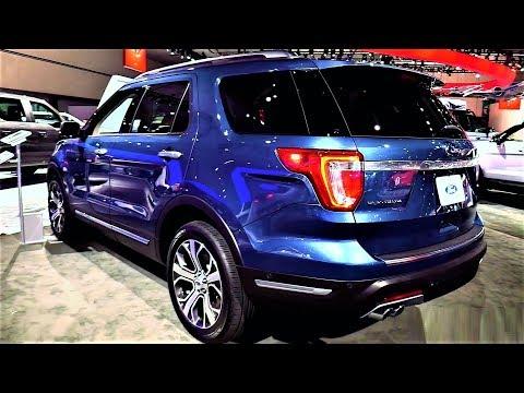 NEW - 2019 Ford Explorer Platinum 4WD 3.5L V6 - INTERIOR and EXTERIOR Full HD 60fps